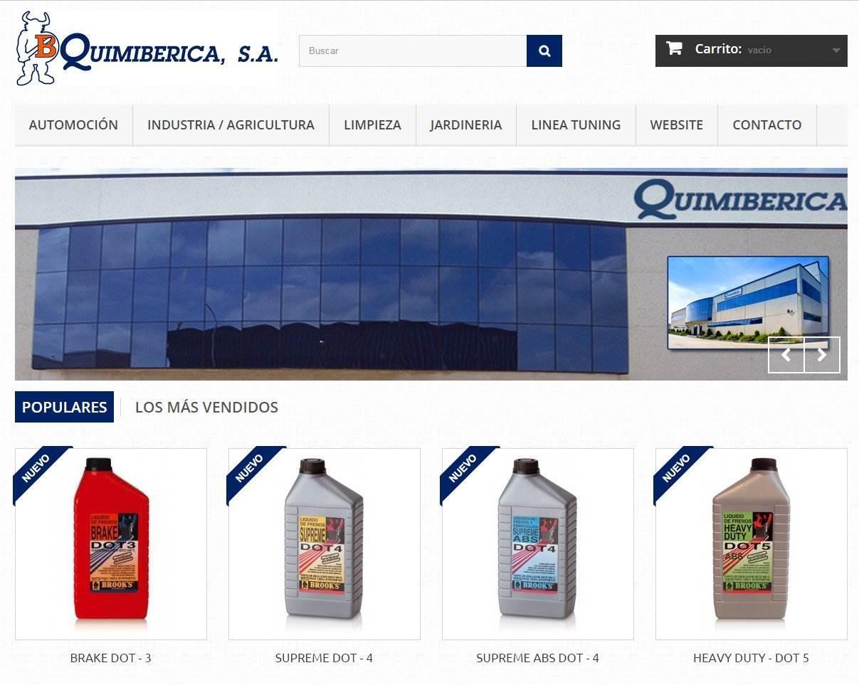 www.quimiberica.com productos Brooks